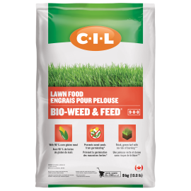 CIL Lawn Food Bio-Weed & Feed® 9-0-0