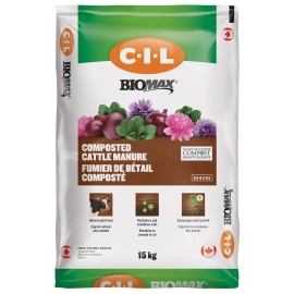 CIL Biomax Composted Cattle Manure 0.5-0.5-0.5