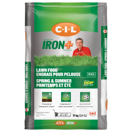 CIL IRON+ Spring Summer Lawn Food 18-0-18