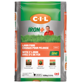 CIL IRON+ fall lawn food 33-0-3 5.25 kg