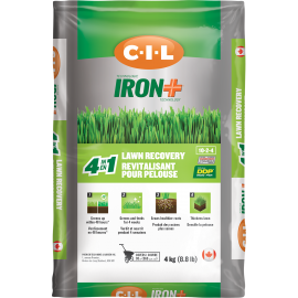 C-I-L® IRON+ Lawn Recovery 4 in 1 10-2-4 4kg