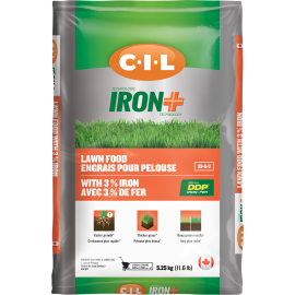 C-I-L® IRON+ Lawn Food 33-0-3 with 3% Iron 5.25kg