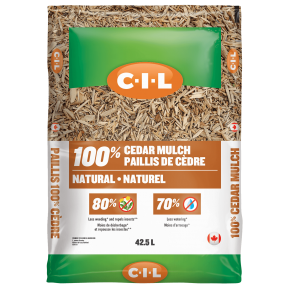 CIL Natural cedar mulch