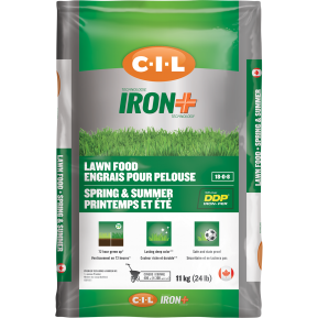 C-I-L® IRON+ Lawn Food Spring and Summer 18-0-8