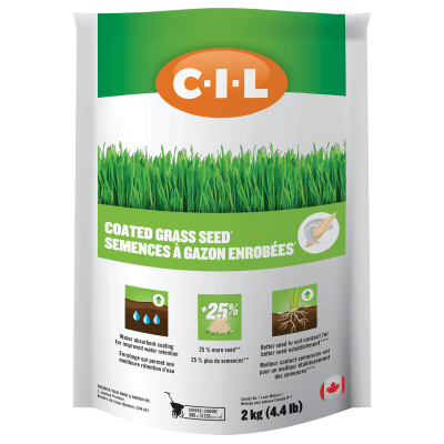 CIL Coated Grass Seed 2kg