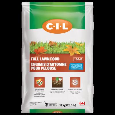 CIL Fall Lawn Fert 12-0-18 12kg