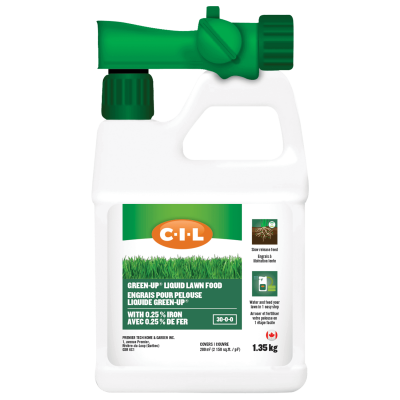 CIL GREEN-UP® Liquid Lawn Food  with Iron 30-0-0