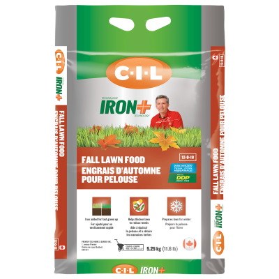 CIL Iron+ fall lawn food 12-0-18