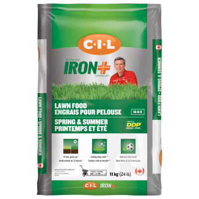 CIL IRON+ Spring Summer Lawn Food 18-0-8