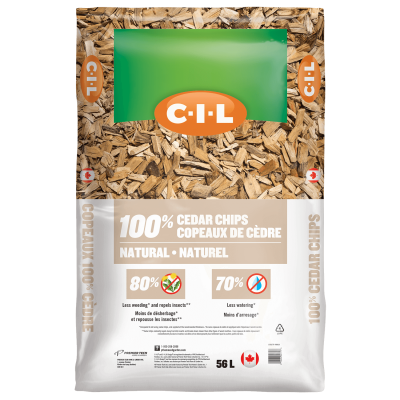 CIL natural cedar chips