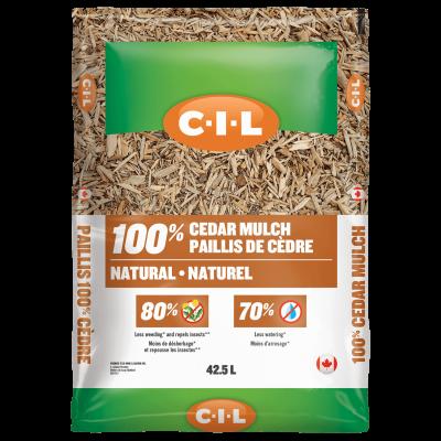 CIL Natural cedar mulch