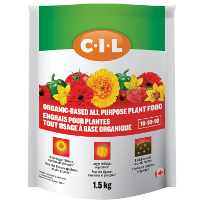 CIl Organic Based All Purpose Plant Food 10-10-10 1.5 kg