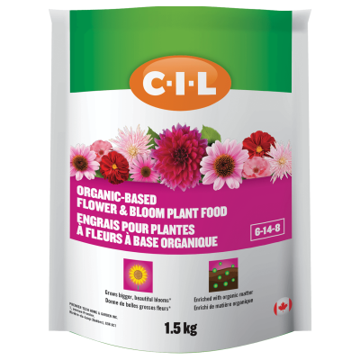 CIL Organic-Based Flower & Bloom Plant Food 6-14-8