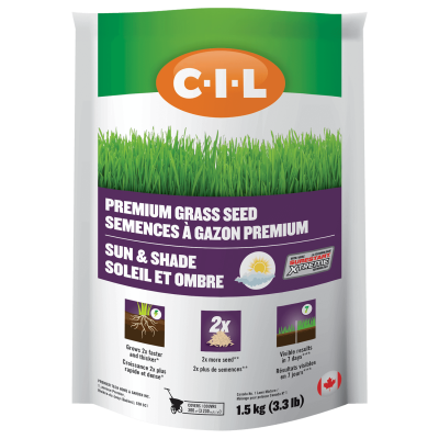 CIL Premium Grass Seed Sun & Shade 1.5 kg