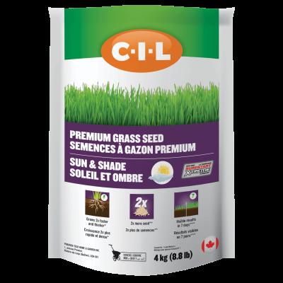 CIL Premium Grass Seed Sun & Shade 4kg