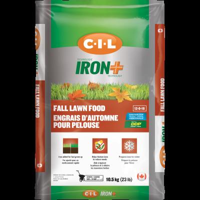 engrais d'automne pour pelouse C-I-L®12-0-18 10.5kg