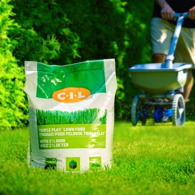 CIL Engrais pour pelouse Triple Play™ 33-0-3